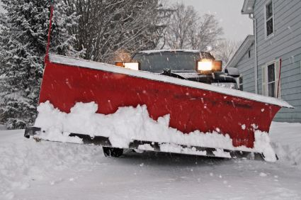 Snow Plowing in Glenside PA by Affordable Painting & Papering