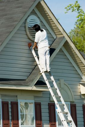Exterior painting in Glenside, PA.